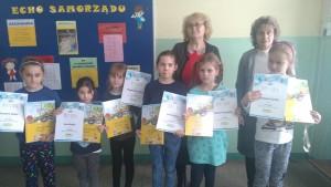 Laureaci z Zespołu Szkolno-Przedszkolnego w Miłowicach